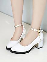 Women's Shoes  Stiletto Heel Heels/Pointed Toe Pumps/Heels Office & Career/Dress Black/Red/White/Beige
