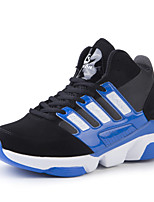 Men's Sneakers Spring / Fall Comfort PU Athletic Platform Lace-up Red / Black and White / Royal Blue Sneaker