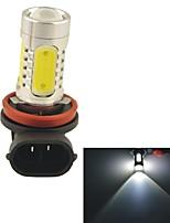 Carking™ H8/H11 11W 5SMD 660ML 6000K White Light LED Fog Light Head Lamp Driving Bulb(DC 12V)