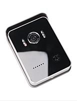 wifi interfono de vídeo timbre de la puerta de intercomunicación con dos vías de voz, aplicaciones móviles y botón del timbre