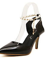 Women's Shoes Leather Stiletto Heel Slingback Comfort Pointed Toe Pumps Party and Dress More Colors available