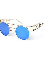 100% UV400 Round Retro Punk Sunglasses