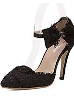 Women's Shoes Stiletto Heel Heels Pumps/Heels Casual Black/Yellow