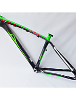 Neasty Brand MB-NT02 Full Carbon Fiber MTB Frame Bright Green White Decal 26er Frame 15