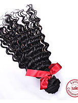 EVET Unprocessed Malaysian Virgin Hair Loose  Wave Extension 1pcs/lot 6A Grade Malaysian 100% Human Hair Free Shipping