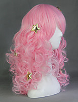 Show By Rock Plasmagica Strawberry Heart Pink 70cm Cosplay Wigs