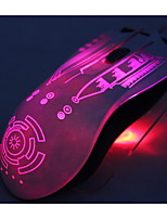 I-Like Crotalus 2.4GHz 2000DPI 6 Buttons Blue LED Wireless Professional Gaming Mouse -Black
