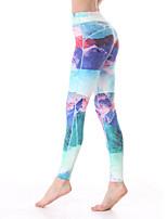 calças justas ( Azul ) - Mulheres - Respirável/Secagem Rápida/wicking
