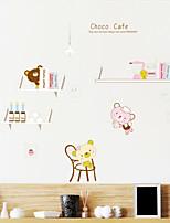 parede animados do estilo decalques adesivos de parede suportar pvc adesivos de parede