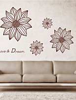 Wall Stickers Wall Decals Style Love & Dream English Words & Quotes PVC Wall Stickers