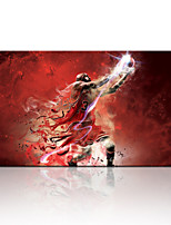 VISUAL STAR®Handsome Basketball Player Canvas Poster For Boys Sports Wall Picture Ready to Hang