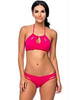 Women's 2pcs Halter Bikini Swimwear