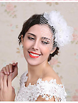 Celada Flores Boda/Ocasión especial Encaje/Rhinestone/Perla Artificial Mujer/Niña de flor Boda/Ocasión especial 1 Pieza