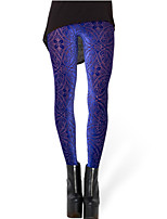 Women's Skinny Velvet Thin Solid Color Print Legging