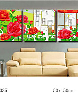 DIY Digital Oil Painting With Solid Wooden Frame Family Fun Painting All By Myself   Rosary 7035