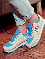 Scarpe Donna - Sneakers alla moda - Tempo libero / Casual - Plateau / Punta arrotondata - Piatto - Di corda - Nero / Rosso / Grigio