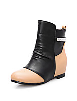Women's Shoes  Wedge Heel Fashion Boots/Round Toe Boots Office & Career/Dress/Casual Yellow/Red/White