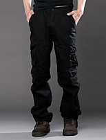 Men's Sweatpants , Sport/Plus Sizes Print Polyester