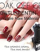 Y-SHINE 2 Pcs Nail Gel Polish Soak Off Uv Gel Nail Polish Y03-40(Pink&Henna)