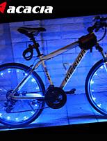 acacia leds fietsen fiets waterdicht wiel signaal band sprak brighting licht flitslicht draad lamp