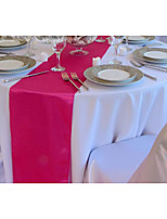 Wholesale Coral Faux Silk Table Runner Wedding Decoration Runner