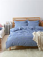 Blue Cotton/Polyester King Duvet Cover Sets