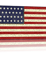VISUAL STAR®New Design POP USA Flag Canvas Wall Posters Stretched and Framed Ready to hang