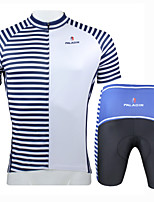 Cycling Jersey Set Short Sleeve Cycling Clothes With Cycling Tops Padded Short Trousers