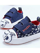 Baby Shoes Casual Canvas Fashion Sneakers Blue/Pink/Red