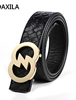 Men Vintage/Party/Work/Casual Calfskin Waist Belt leather first layer of leather business casual fashion wild