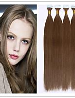 Virgin Human Keratin Hair Extension PU Skin Weft/Glue Skin Weft/Tape Hair 18