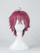 DIABOLIK LOVERS Sakamaki Ayato Red and Pink Gradient Straight Cosplay Wig