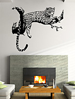 Wall Stickers Wall Decals Style Creative Personality Tiger PVC Wall Stickers
