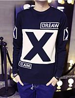 Men's Casual Long Sleeve Regular Pullover