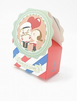 1 Piece/Set Favor Holder - Cuboid Card Paper Favor Boxes/Gift Boxes Non-personalised