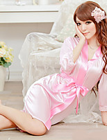 Women Robes Nightwear , Nylon