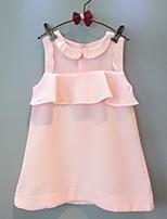 2015 Summer Sleeveless Cake Shape Dress
