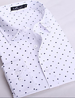 Men's Casual Print Long Sleeve Regular Shirt