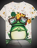 Women's High Quality Personality Cute Summer Breathable 3D Style T-shirt——The Frog