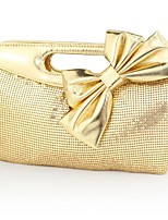 Handbag Faux Leather Evening Handbags/Clutches/Mini-Bags/Wallets & Accessories With Sequin/Bowknot