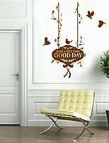Wall Stickers Wall Decals Style Good Day English Words & Quotes PVC Wall Stickers