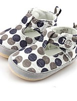 Baby Shoes Casual Fabric Flats Yellow/Taupe