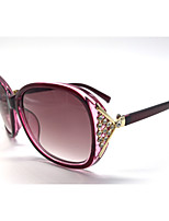 Women 's 100% UVA & UVB Browline Sunglasses