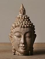 polyrésine bouddha pacifique tête décoration