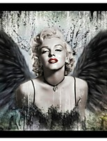 Prints Poster Sexy Marilyn Monroe Printed Pictures Print On Canvas  1pcs/set (Without Frame)