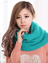 Thickening Double Warm Knitting Wool Scarf