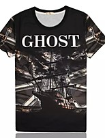 Women's Creative Summer Trend Breathable 3D Style T-shirt——GHOST