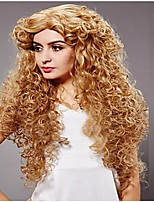 The European and American fashion girl Natural fluffy curly wig