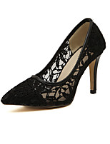 Women's Shoes Stiletto Heel Heels/Closed Toe Pumps/Heels Casual Black/Blue/Beige