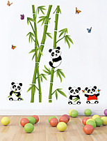 Wall Stickers Wall Decals Style Panda Park PVC Wall Stickers